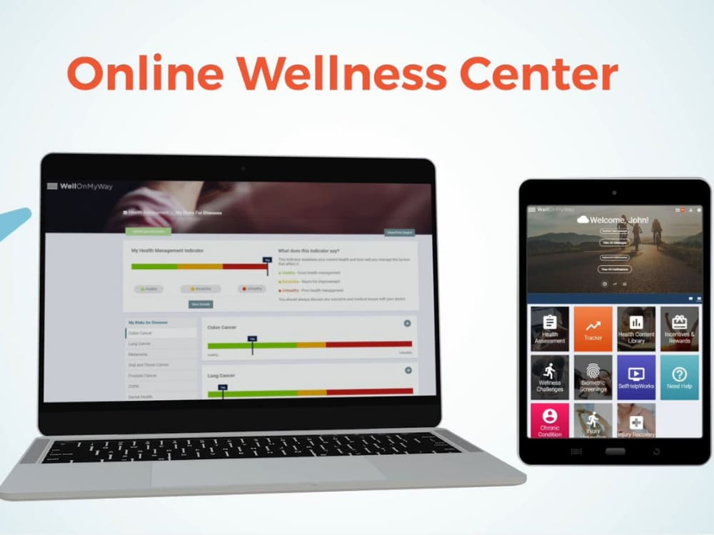 With WellOnMyWay, employee health and wellness are center stage with regard to a corporate wellness program. WellonMyWay addresses physical health, financial health, and mental health, promoting the ultimate workplace wellness solution